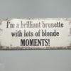 Brillant brunette